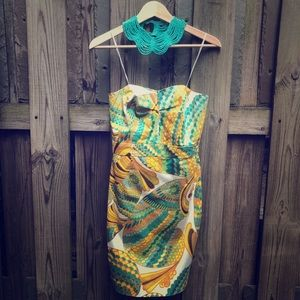 Strapless Trina Turk for Banana Republic Dress